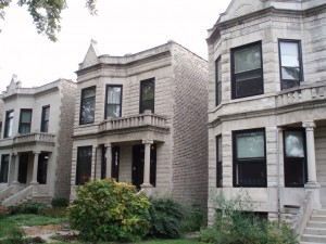 some stone houses managemed by a property management Chicago company